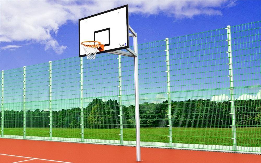 finest selection 15184 a07ad Basketballanlage div. Ausladungen (Ovalprofil)